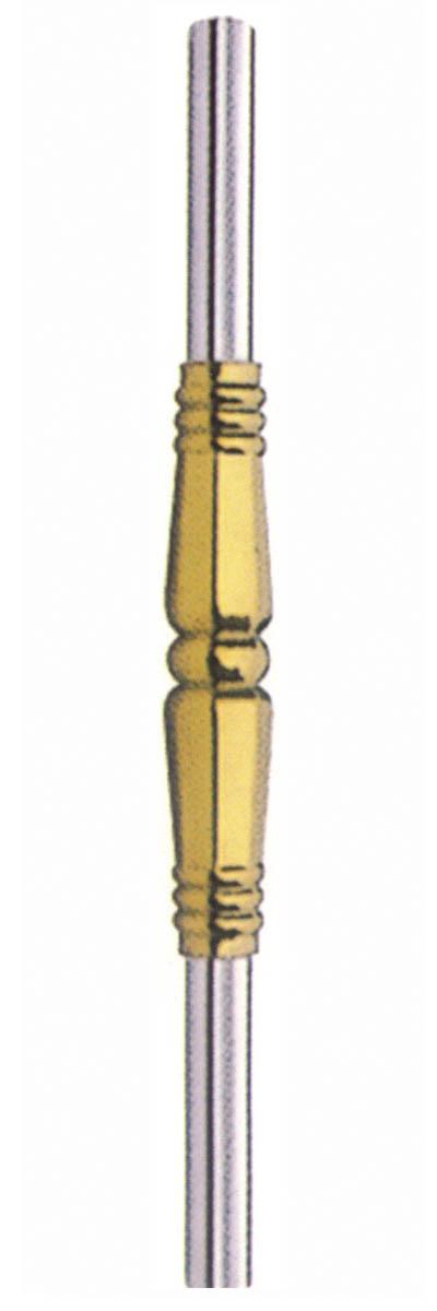 qc-069中间38八角柱金色 - 楼梯柱系列 - 启创不锈钢
